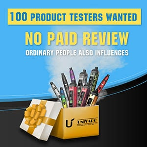 100 product testers wanted! ordinary people can be also influential!